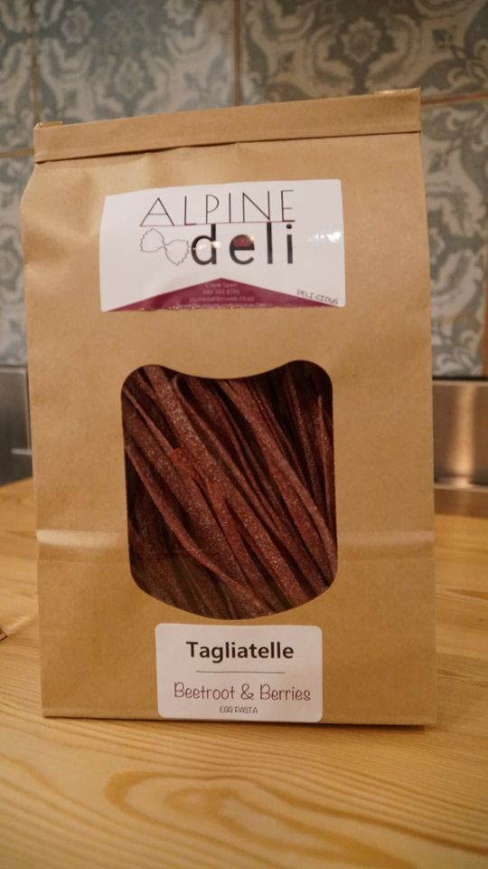 Beetroot & Berries Egg Tagliatelle Pasta (300g)