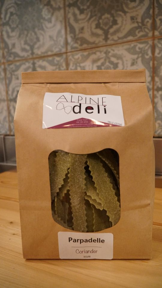 Coriander Vegan Parpadelle Pasta (300g)