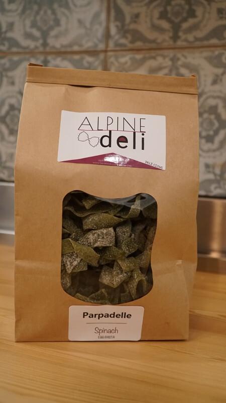 Spinach & Kale Egg Parpadelle Pasta (300g)