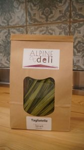 Spinach & Kale Gluten-free Tagliatelle Pasta (200g)