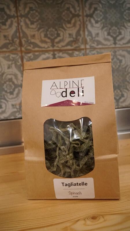 Spinach & Kale Vegan Tagliatelle Pasta (300g)
